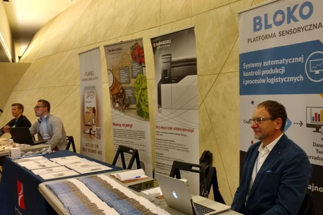 Food Safety Congress - BLOKO Sensor Platform by EMBIQ
